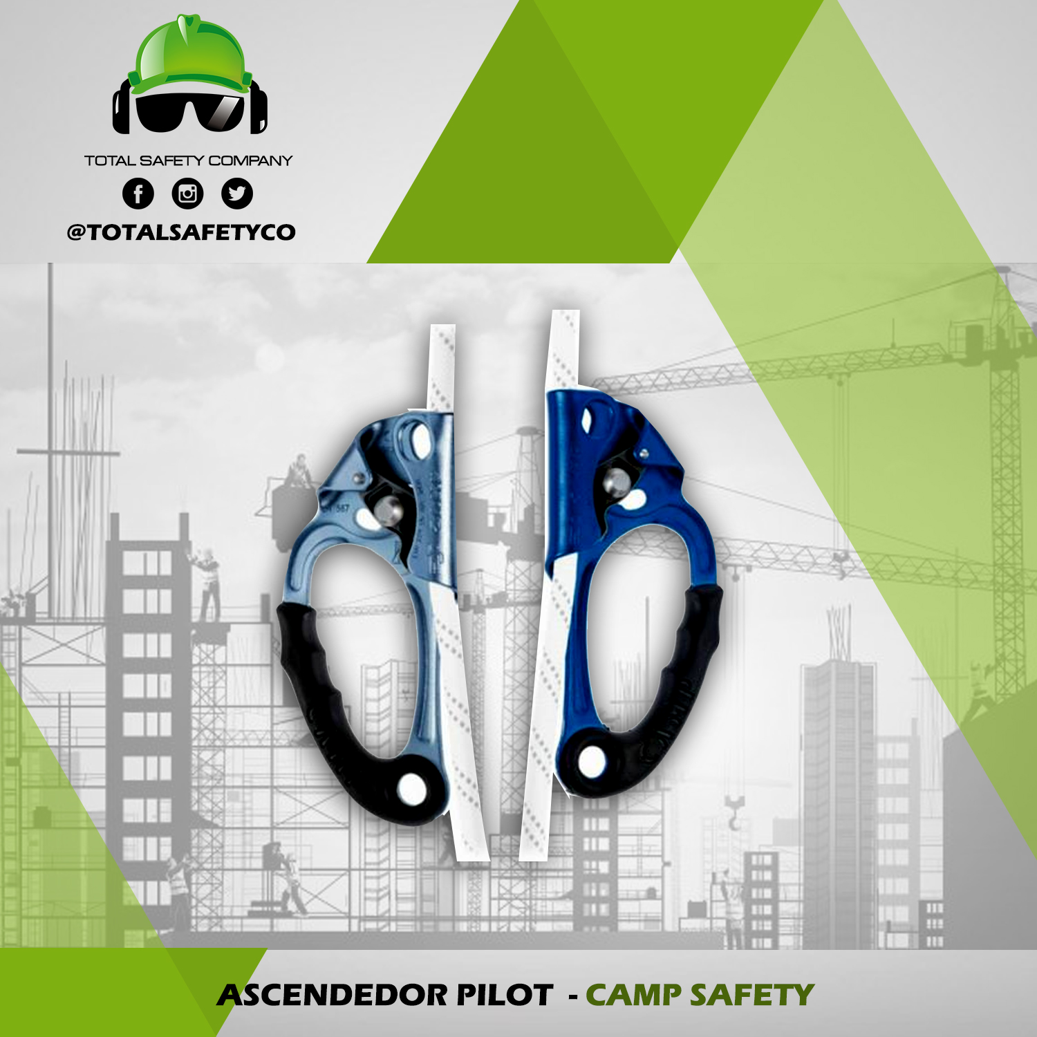 Ascendedor pilot CAMP SAFETY
