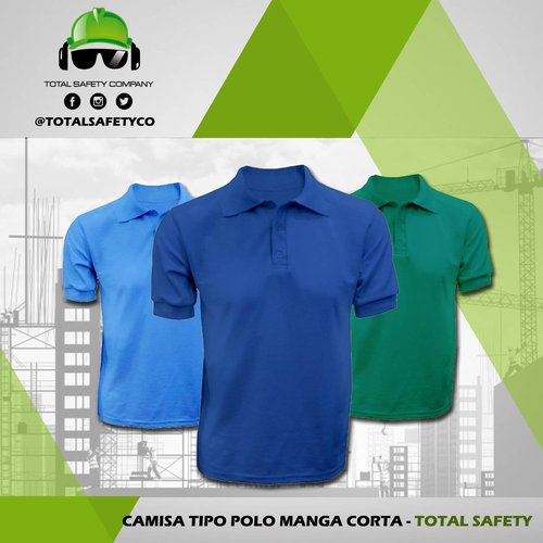 Camisetas tipo polo manga corta - TOTAL SAFETY