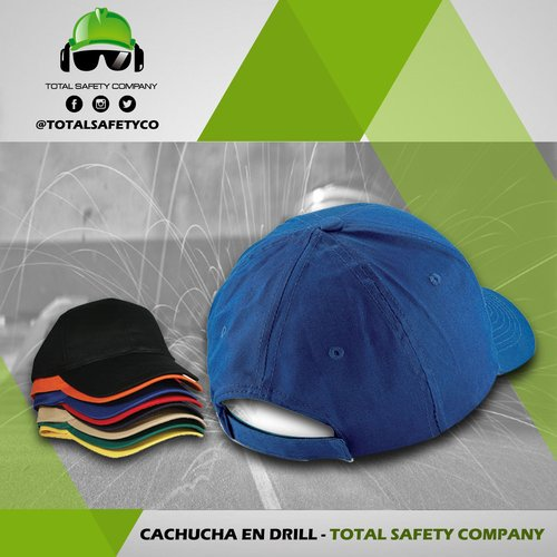 Cachucha en drill - TOTAL SAFETY