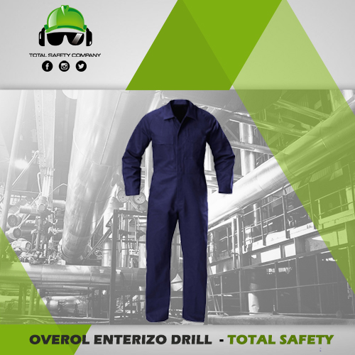 Overol enterizo drill - TOTAL SAFETY