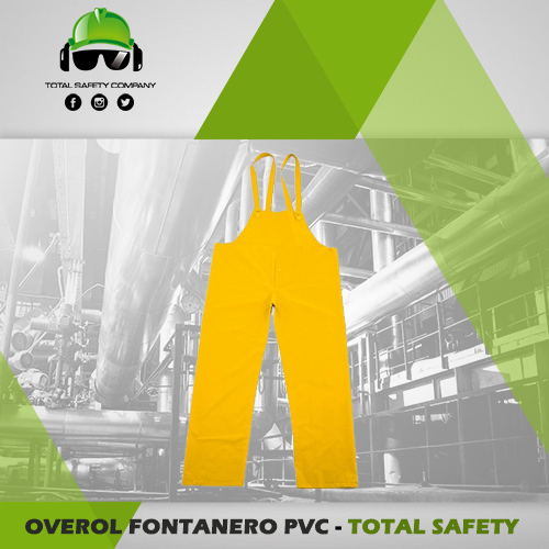 Overol fontanero PVC - TOTAL SAFETY