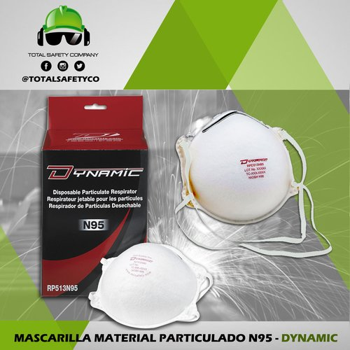Mascarilla material particulado N95 - DYNAMIC