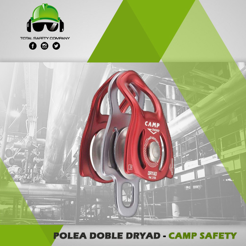 Polea doble dryad - CAMP SAFETY