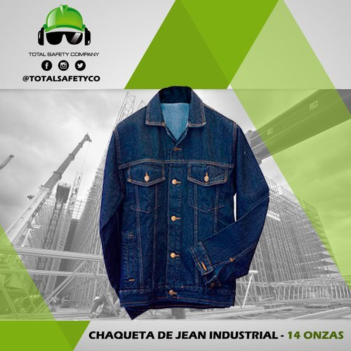 Chaqueta de jean industrial - TOTAL SAFETY