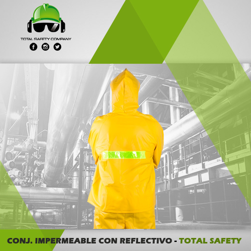 Conjunto 2 piezas impermeable - TOTAL SAFETY