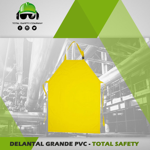 Delantal grande PVC - TOTAL SAFETY
