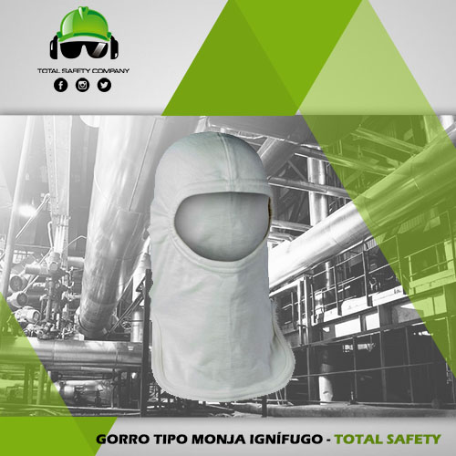 Gorro tipo monja ignifugo - TOTAL SAFETY