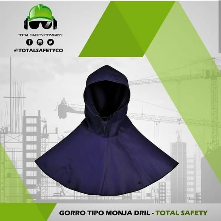 Gorro tipo monja dril - TOTAL SAFETY