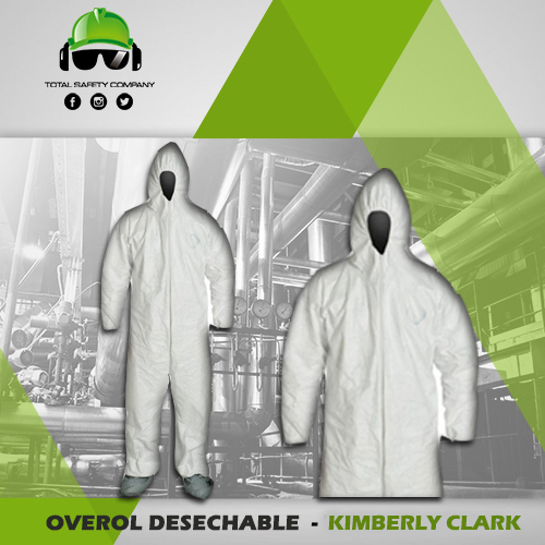 Overol desechable - kleen guard