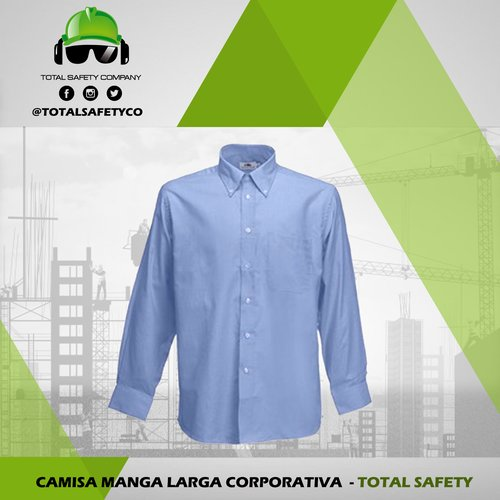 Camisa manga larga corporativa
